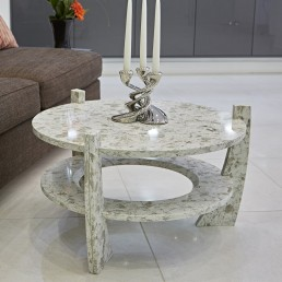 Como Quartz Coffee Table