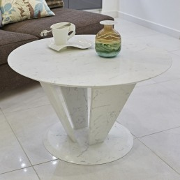 Tivolo Quartz Coffee Table in Ammonite Carrara