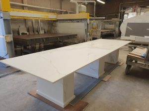 Neolith Table being manufactured