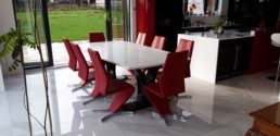 Verona Bespoke Quartz Dining Table