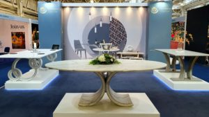 Steve Bristow Furniture at 2019 Decorex Show